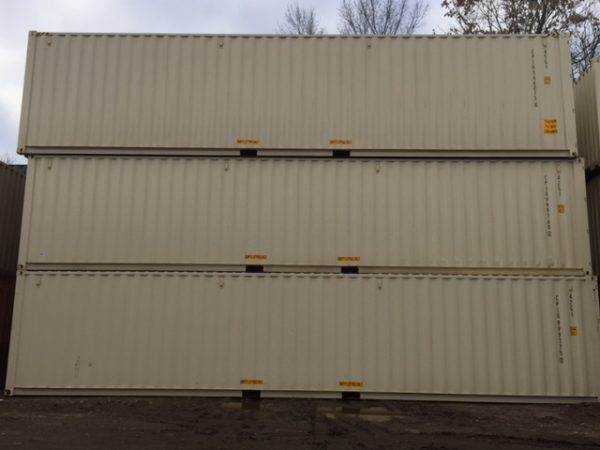 40ft. New Once-Shipped Containers