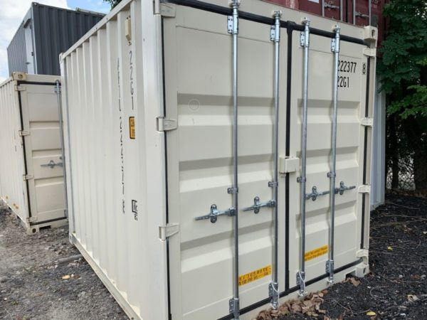 "10' x 8' x 8'6"" New, Once-Shipped, Steel Container, New Units Available Up to 45'"